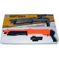 NSM 302A Spring Powered (Low Power) Plastic Airsoft Pump Action BB Shotgun