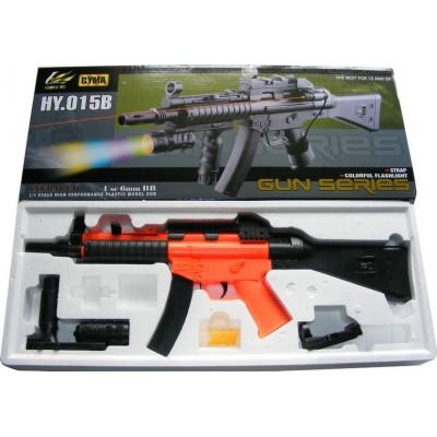 HY015B UMP MP5 Spring Powered Plastic Airsoft BB Gun Rifle 300 FPS