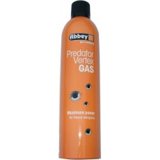 Abbey Vortex Predator High Performance Gas 1 Litre (300g) - For Metal Refillable Gas BB Guns Only