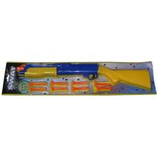 Large Swat 55cm Plastic Pump Action Dart Rifle with 8 Soft Darts