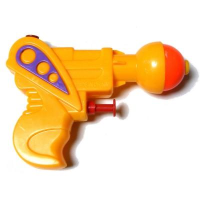 5 Inch Mini Plastic Water Pistol Gun - Choice of 3 Colours